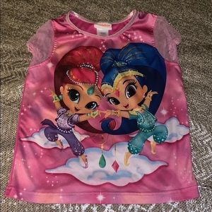 Cute Pajama Top by Nickelodeon size 8 Pre Owned